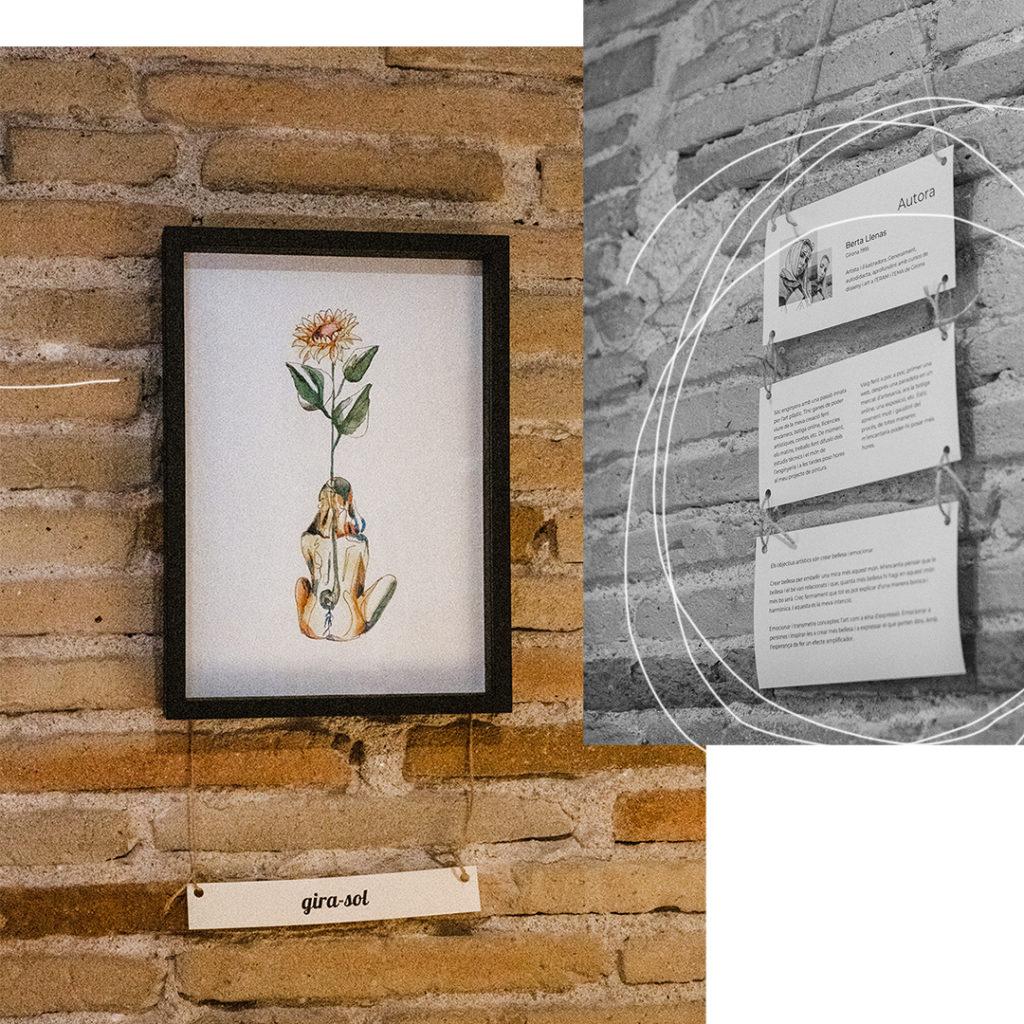 post expo el forn7- exposicio berta llenas primavera art i il·lustració
